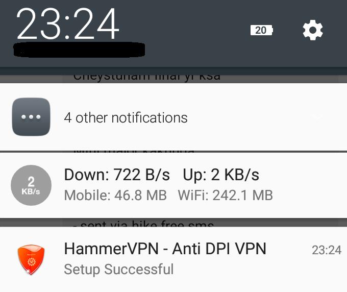 How to use hammer vpn in karnataka