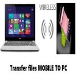 Transfer files android to PC without USB – Check working Tricks