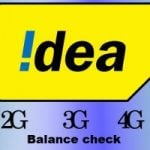 Idea balance check (All Idea USSD codes) for 2G, 3G, 4G Net