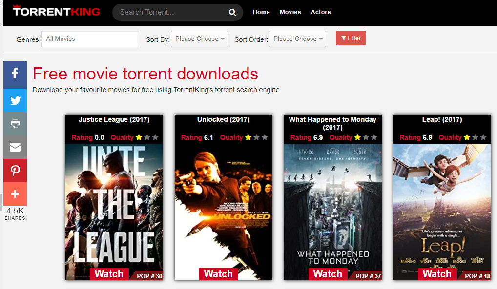 Top 15 Best Torrent Sites September 2019 (Updated) - Tricks5