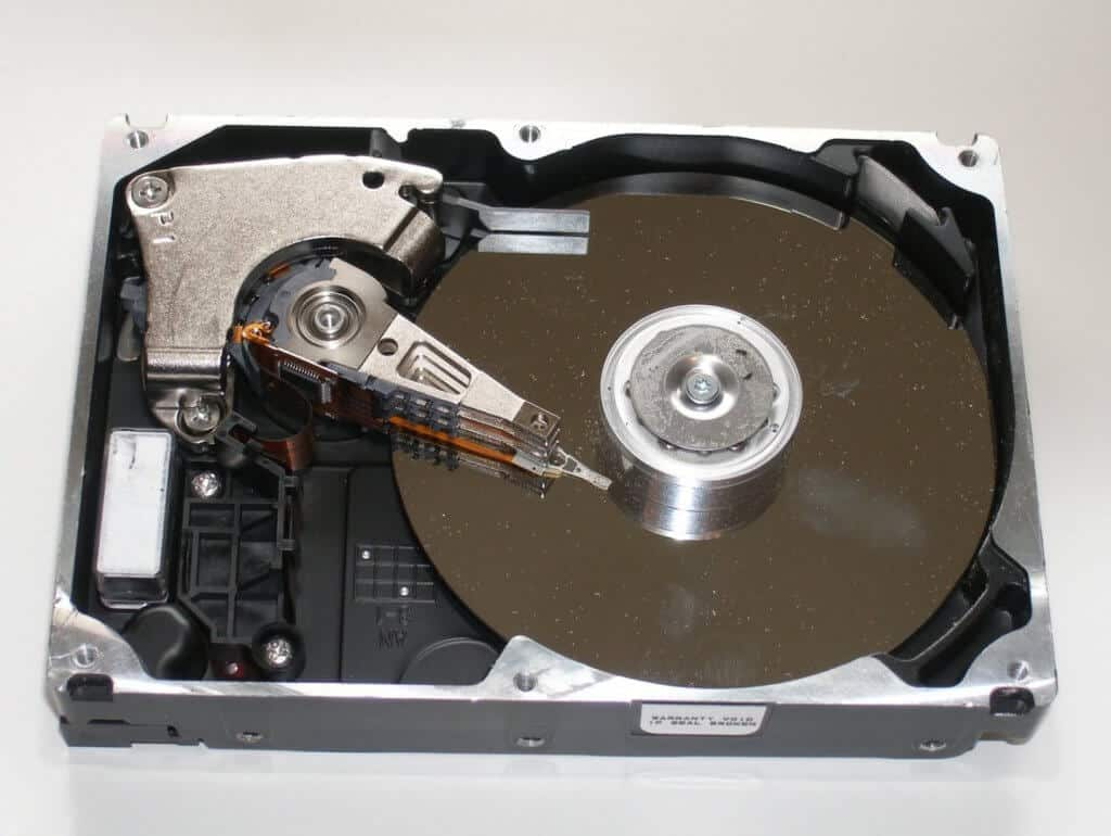 hard drive recover data