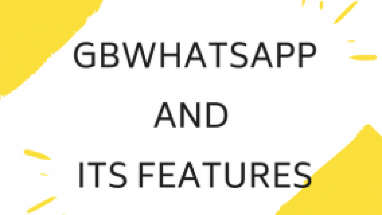 GBWhatsApp And its Features - Tricks5